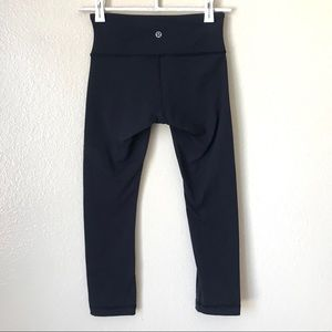 Lululemon Wunder Under Crop Leggings